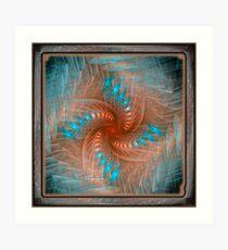 Gnarl Spiral Art Print