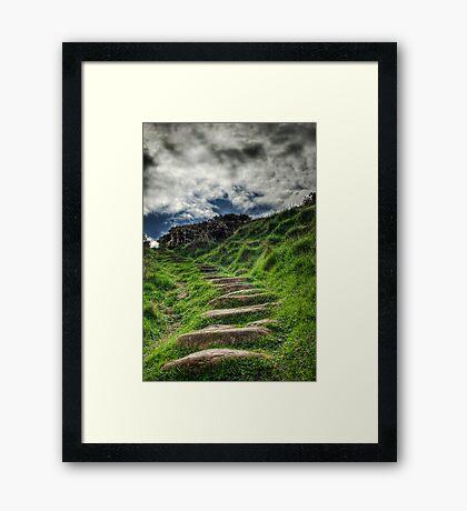 The Steps Framed Print