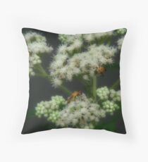 The Gathering Flower Throw Pillow