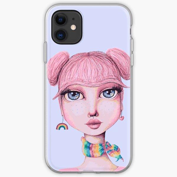 I Heart Cheer Bear iPhone Soft Case