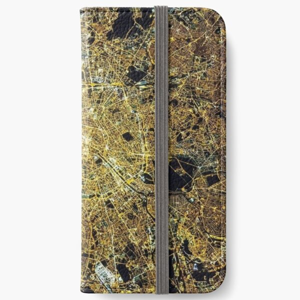 Cities from space, Paris, Париж iPhone Wallet