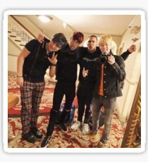 Jake, Sam, Corey, Colby Sticker