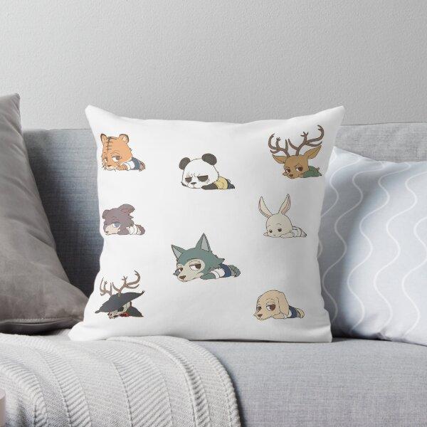 Beastars Mini Full Collection Throw Pillow