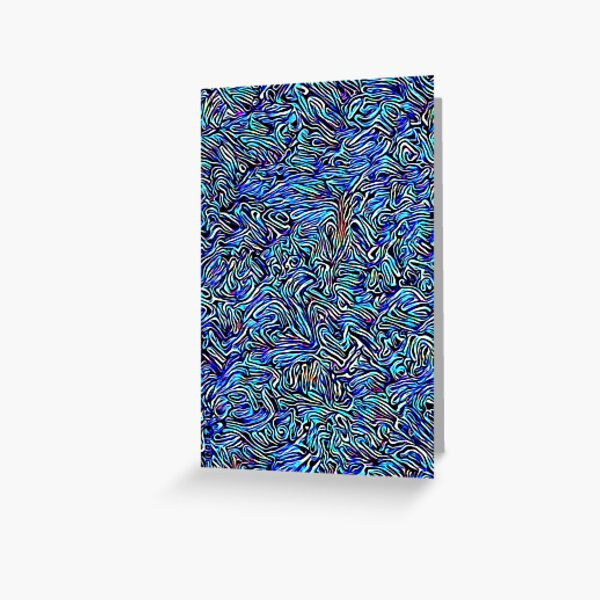 Blue Dreaming Greeting Card