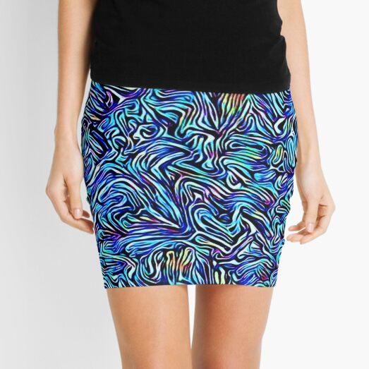 Blue Dreaming Mini Skirt