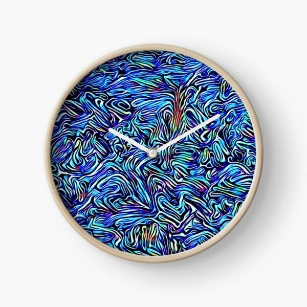 Blue Dreaming Clock