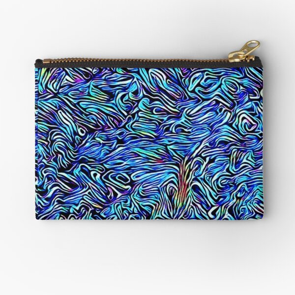 Blue Dreaming Zipper Pouch