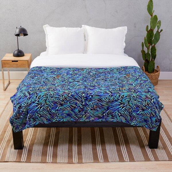 Blue Dreaming Throw Blanket