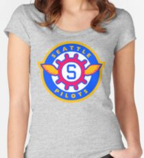 Seattle Pilots Women's Fitted Scoop T-Shirt