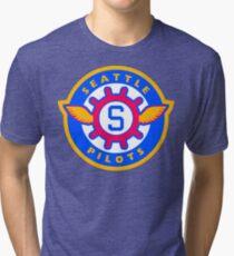 Seattle Pilots Tri-blend T-Shirt