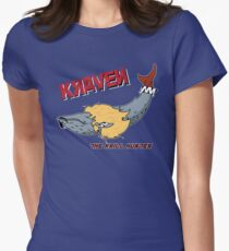 Kraven the Krill Hunter Womens Fitted T-Shirt