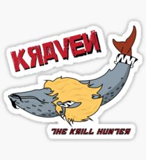 Kraven the Krill Hunter Sticker