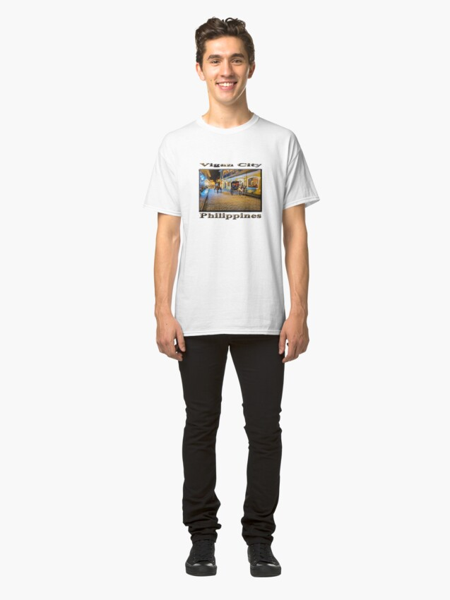 Alternate view of Vigan City, Philippines Classic T-Shirt