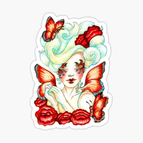 Bloom Butterfly Fairy Sticker