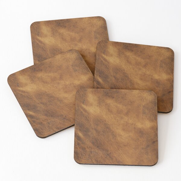 Leather Coasters (Set of 4)