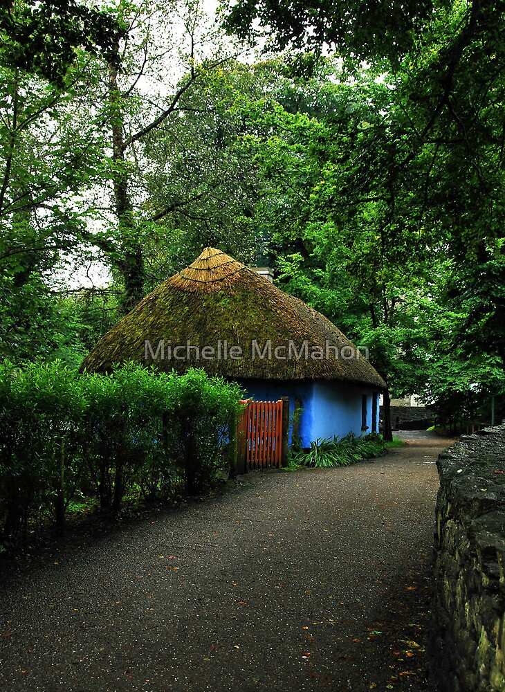blue cottage.. by Michelle McMahon