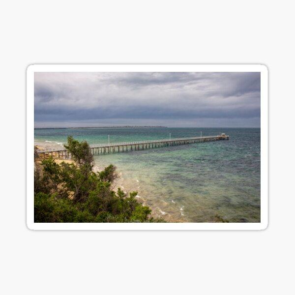 Point Lonsdale Pier, Victoria, Australia Sticker