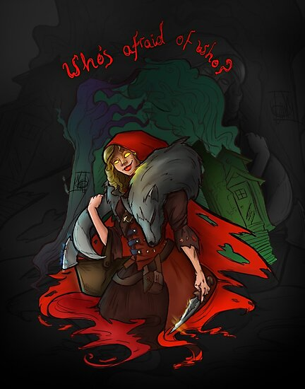 Who's Afraid of Who? by nicolealesart