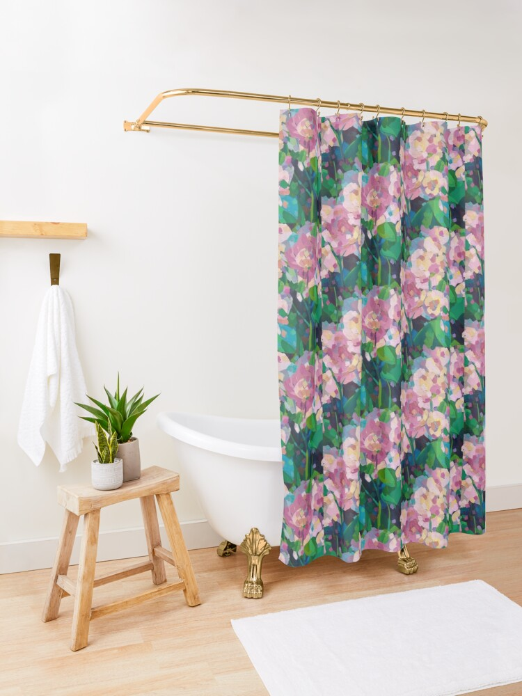 Alternate view of The Family Thorne Shower Curtain