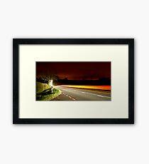 Lightning McQueen Framed Print