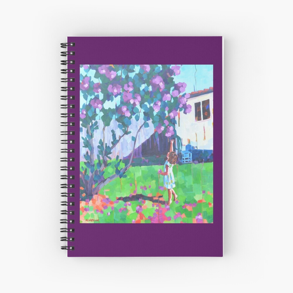 """Blossom"" Spiral Notebook"