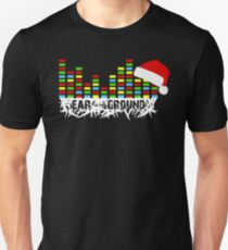 Ear to the Ground Colorful Christmas Slim Fit T-Shirt