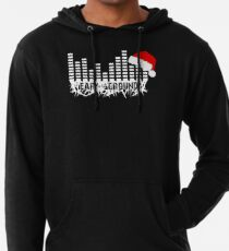 Ear to the Ground Christmas Lightweight Hoodie