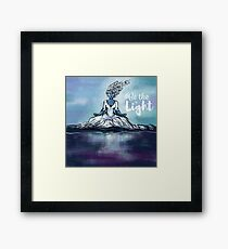 Be the Light Framed Print