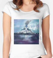 Be the Light Fitted Scoop T-Shirt