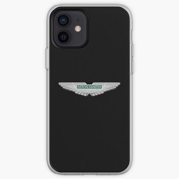 Aston Martin EST 1913 logo Insigne Vert Coque souple iPhone