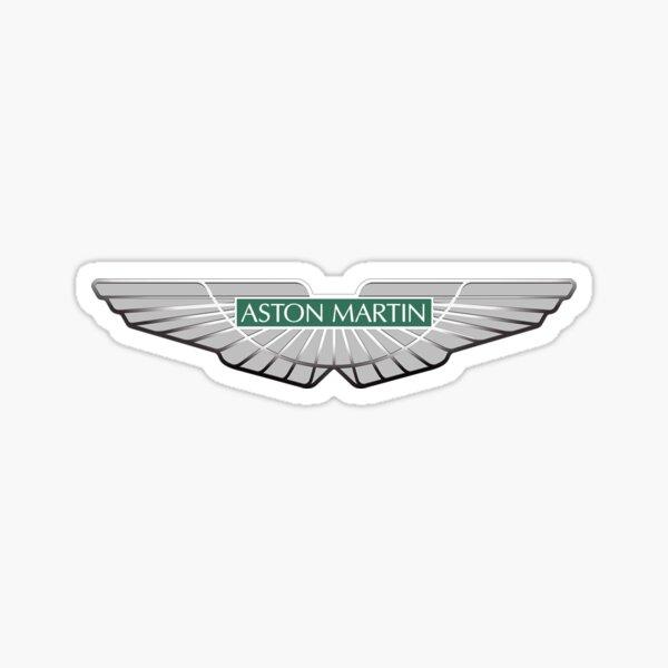Aston Martin EST 1913 logo Insigne Vert Sticker