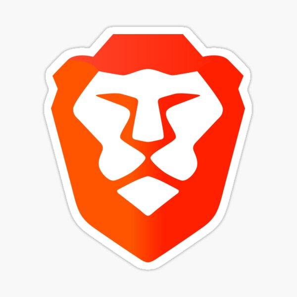 Brave browser logo Sticker