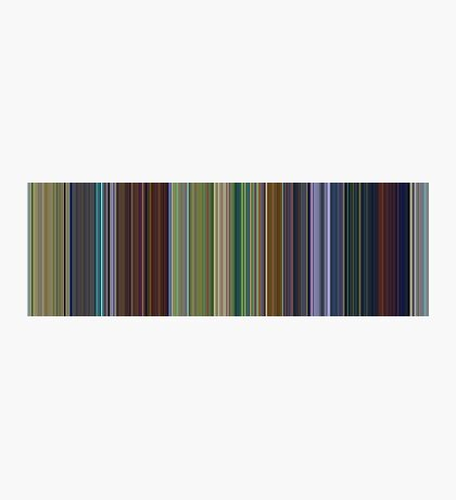 Moviebarcode: A Bug's Life (1998) [Simplified Colors] Photographic Print