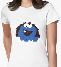 cookie monsta Womens Fitted T-Shirt