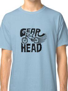 Gearhead -  black   Classic T-Shirt