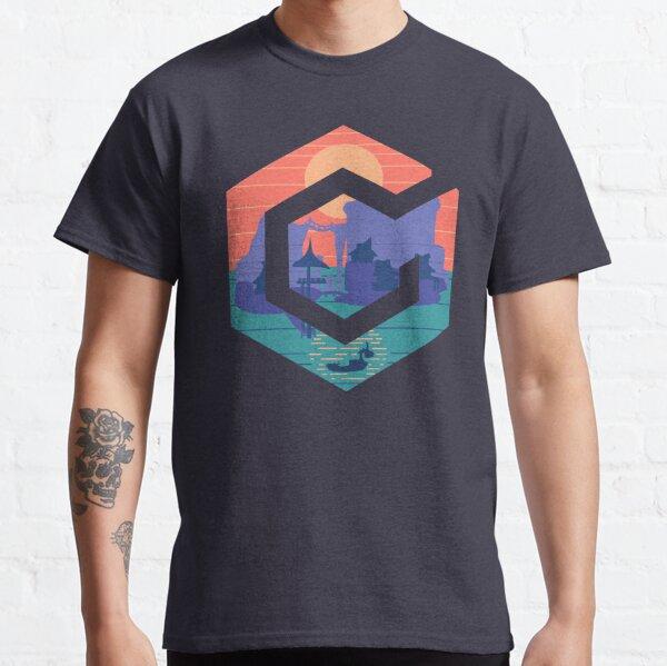 GameCube Outset Serenity Navy Camiseta clásica