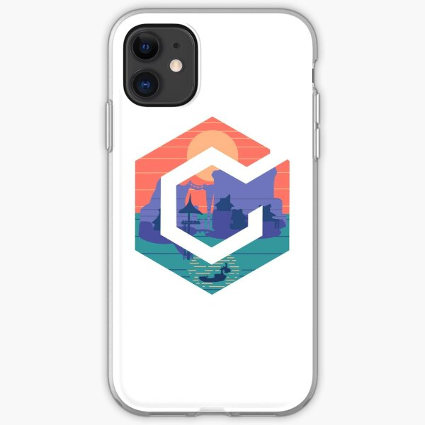 GameCube Outset Serenity White iPhone Soft Case