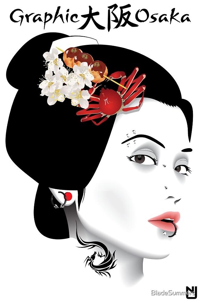 Graphic Osaka by BladeSummers