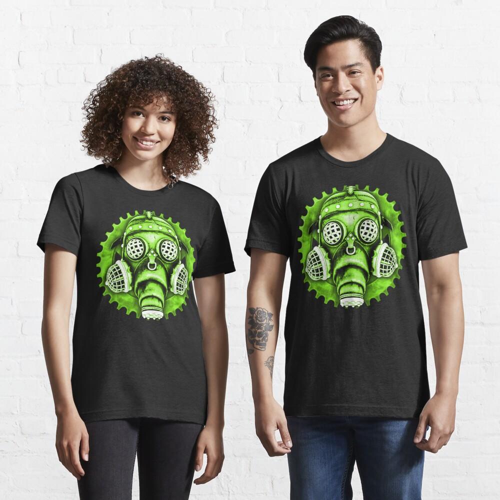 Steampunk / Cyberpunk Gas Mask #1E Steampunk T-Shirts Essential T-Shirt