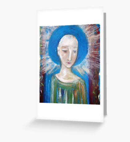 """""""Guardian""""~  a closer view  Greeting Card"""