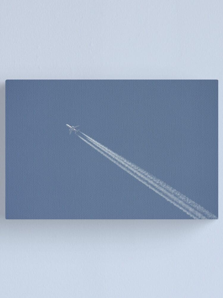 Alternate view of Passenger Jet Canvas Print