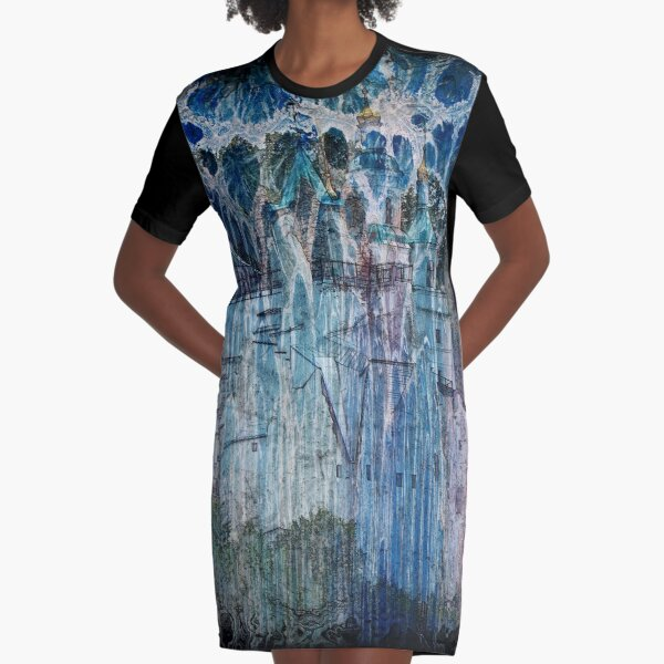 The Atlas Of Dreams - Color Plate 68 Graphic T-Shirt Dress