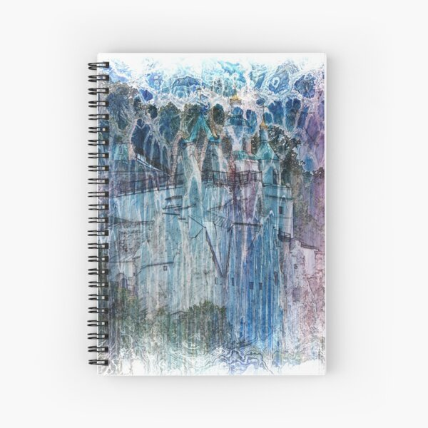 The Atlas Of Dreams - Color Plate 68 Spiral Notebook