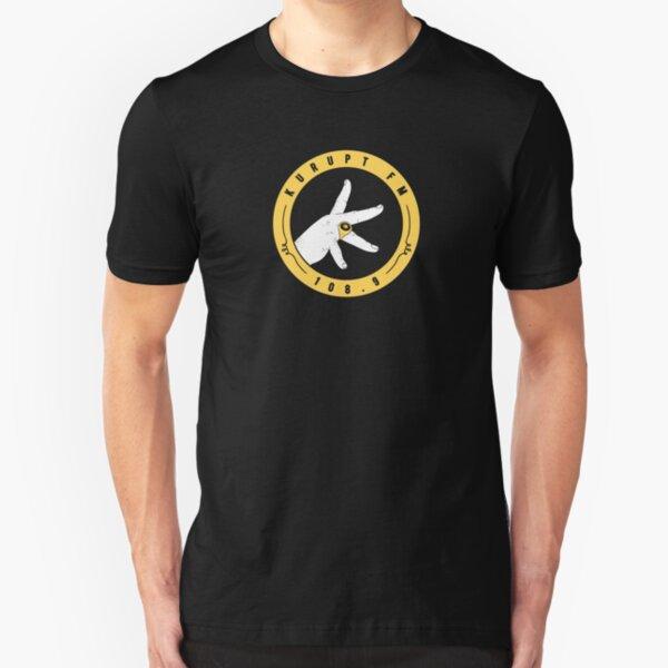 BEST SELLER - Kurupt FM Logo Slim Fit T-Shirt