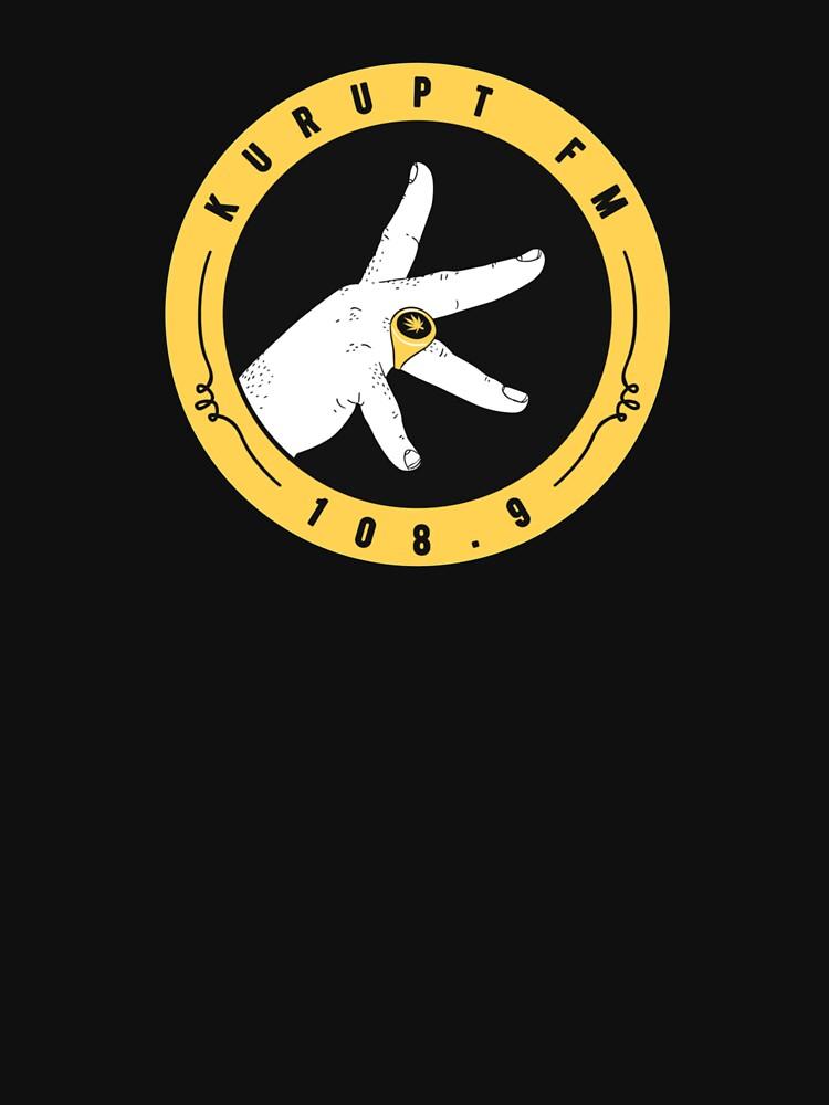BEST SELLER - Kurupt FM Logo by KathyOwent