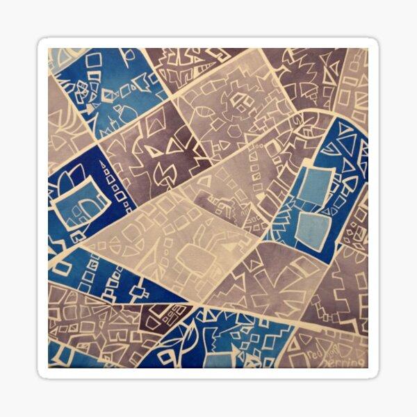 Street Map no. 2 Sticker