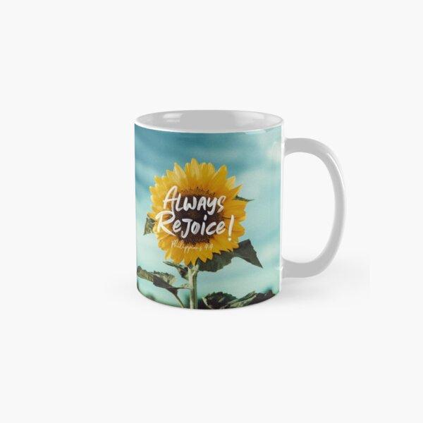 Always Rejoice! Classic Mug