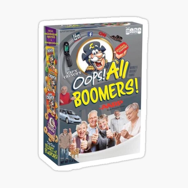 Oops All Boomers Sticker By Freakyferry Redbubble By creature_unknown, posted a year ago professional monster hugger. redbubble