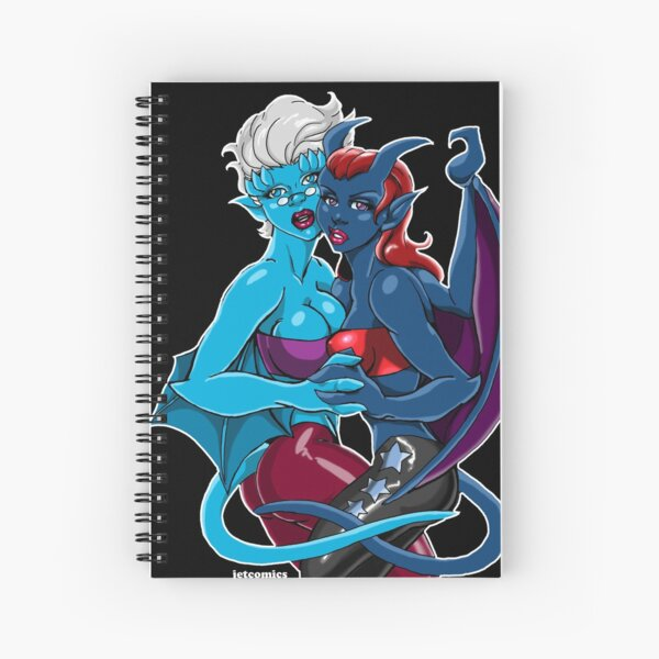 Gargoyle Girls Spiral Notebook