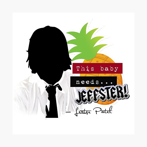 """Lester—""""This baby needs...JEFFSTER!"""" (Chuck TV Show) Photographic Print"""